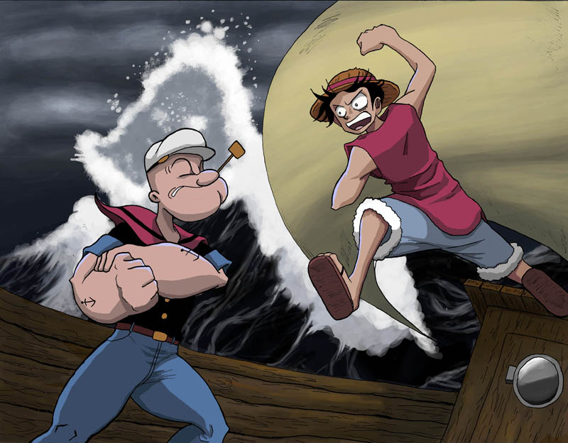 Luffy_vs__Popeye_v2_by_bugonisx2.jpg